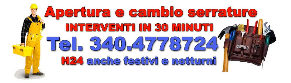 Apertura serrature Roma cambio serrature Tel. 340.4778724